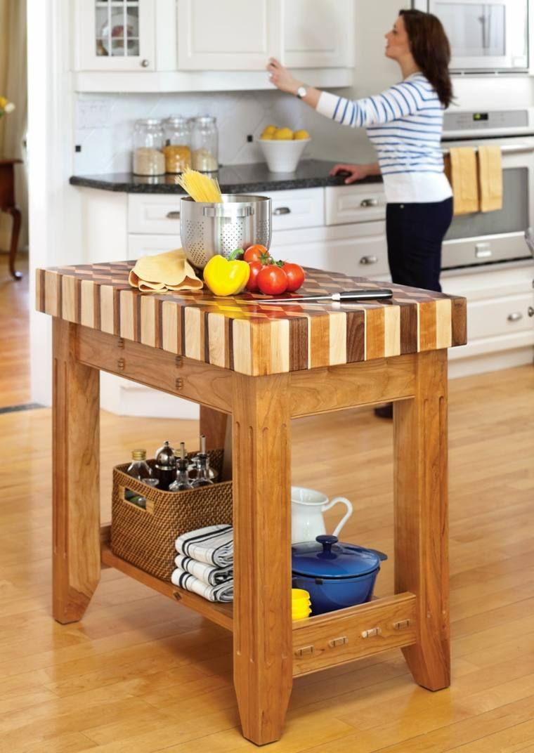 petit meuble cuisine fabriquer un îlot de cuisine   Ilot cuisine ...