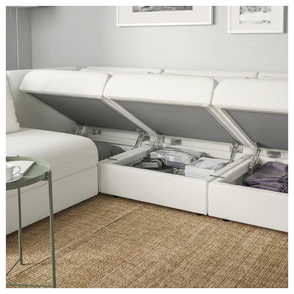 Airstream Interior Discover VALLENTUNA Modular corner sofa