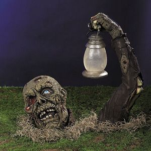 halloween ideas don t forget about solar powered halloween decorations - Solar Halloween Decorations