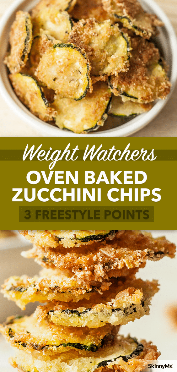 Oven Baked Zucchini Chips are only 99 calories per serving Why hit the vending machine when you can have this yummy superfood snack 61783826125344253