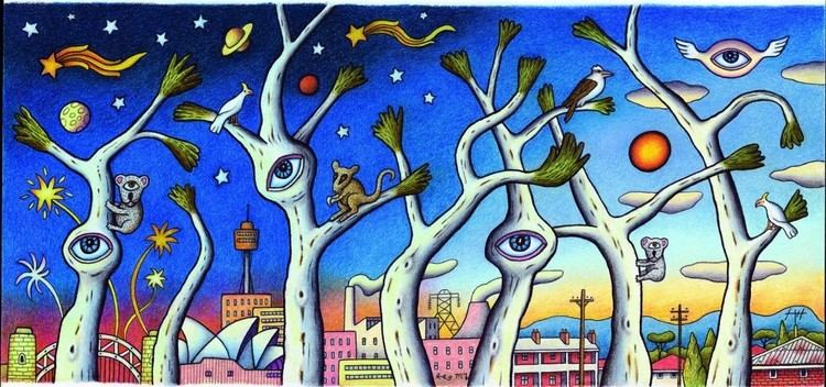 Reg Mombassa Alchetron The Free Social Encyclopedia In 2020 Sydney New Years Eve Summer Drawings National Art School