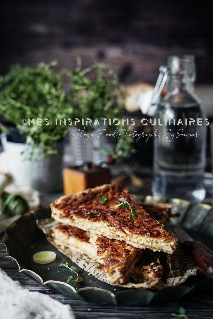 Flamiche aux poireaux | Le Blog cuisine de Samar