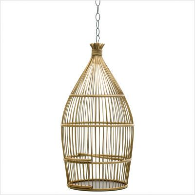 Old Fashioned Bird Cages Bird Cages     #onekingslane #designisneverdone