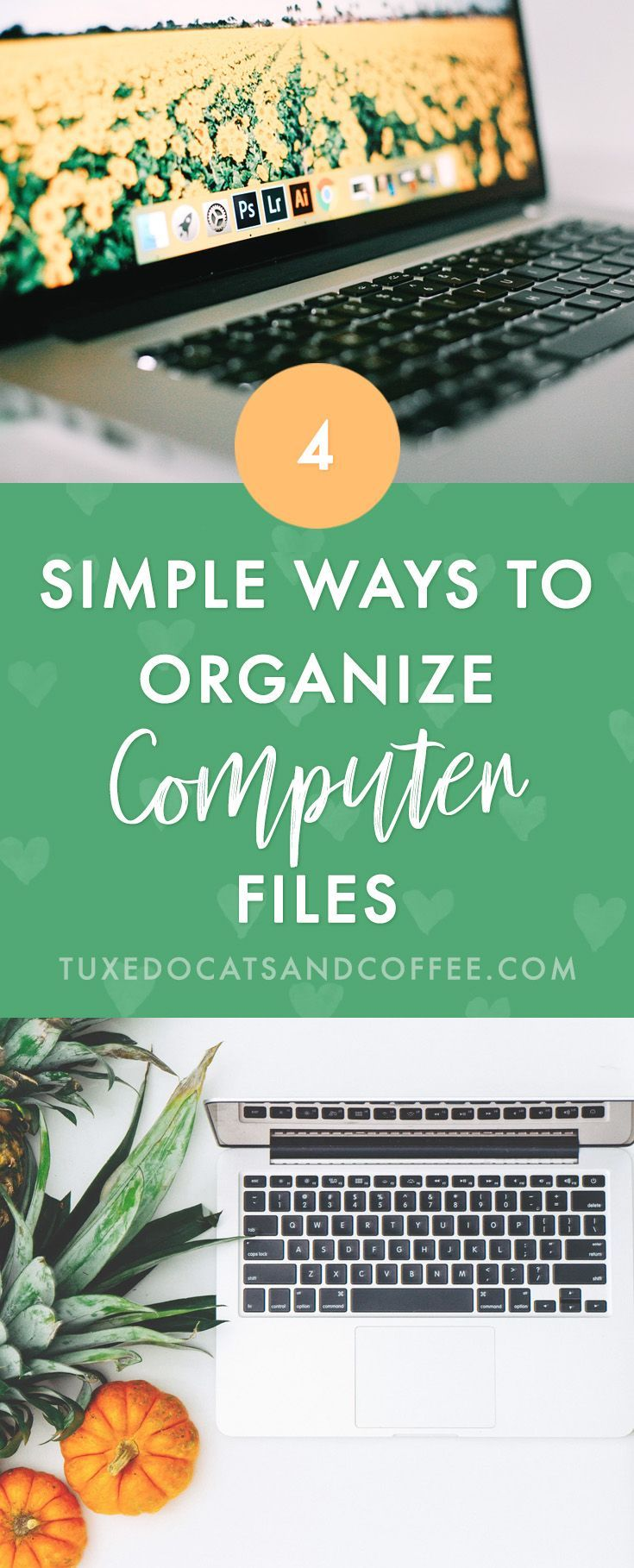 4 Simple Ways to Organize Your Computer Files | Closet ...