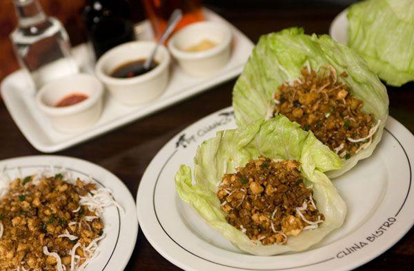 pf chang's vegetarian lettuce wraps. incredible! -- via myalohavibe.com