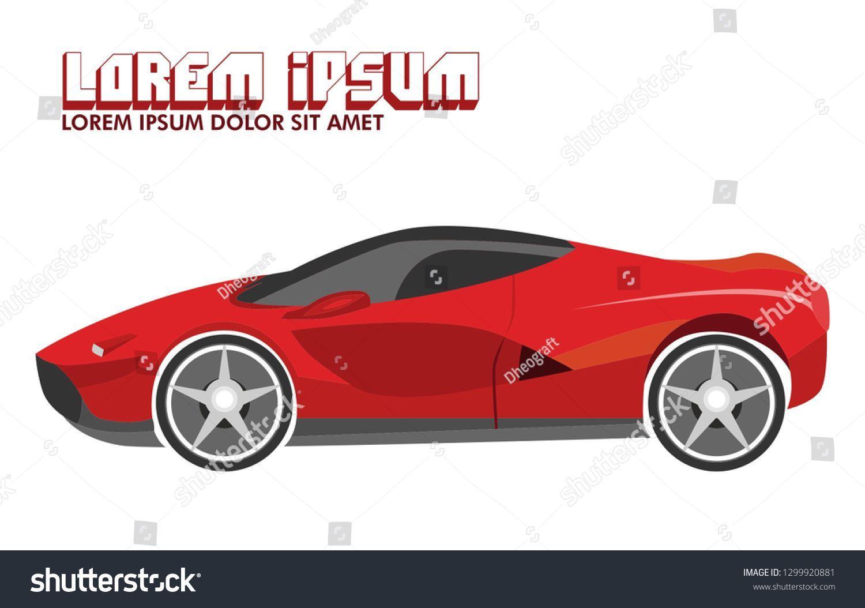 Super Car Vector Http Wallpapers2019 Com Super Car Vector Html In 2020 Car Vector Super Cars Sports Cars