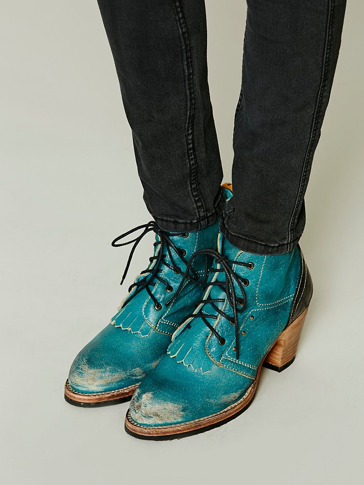 pskaufman Wanna Dance Ankle Boot at Free People Clothing Boutique
