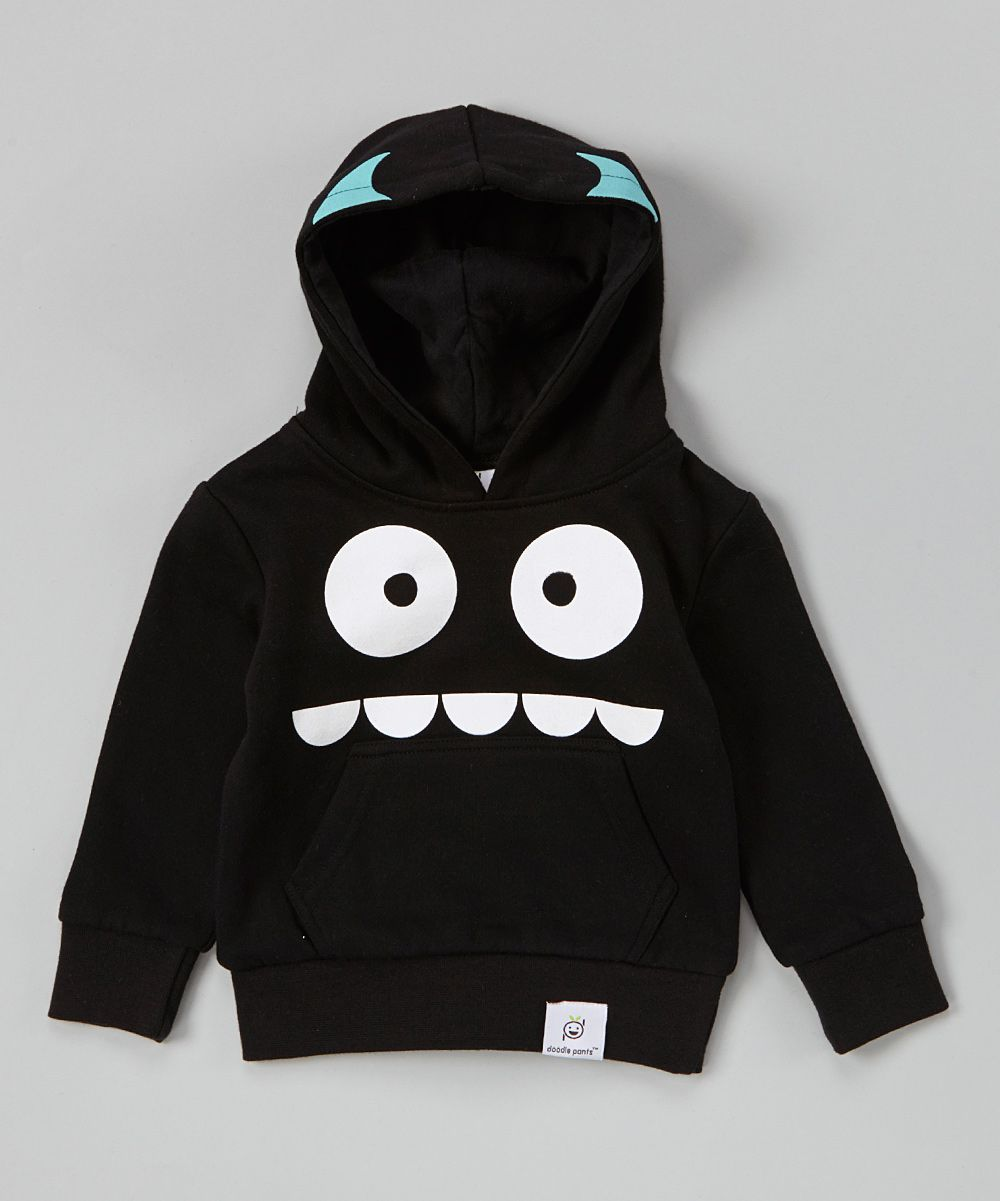 Black Monster Hoodie Infant Toddler Zulily Kids Outfits Boy Outfits Kids Fashion [ 1201 x 1000 Pixel ]