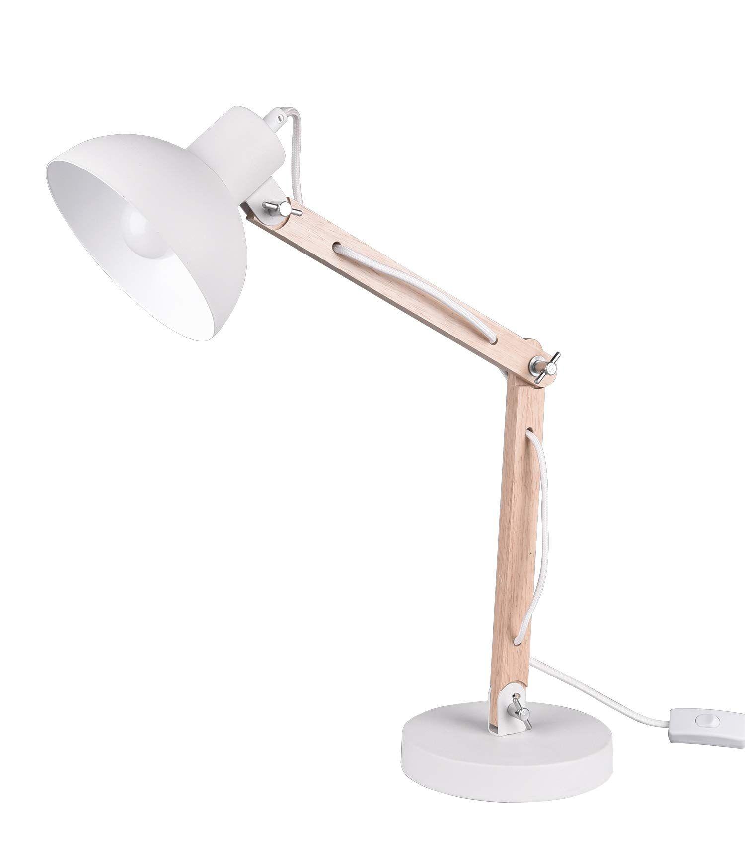 Tomons Led Leselampe Im Klassichen Holz Design Schreibtischlampe Tischleuchte Verstellbare Lampe Mit Verstel In 2020 Schreibtischlampe Led Leselampe Nachttischlampe