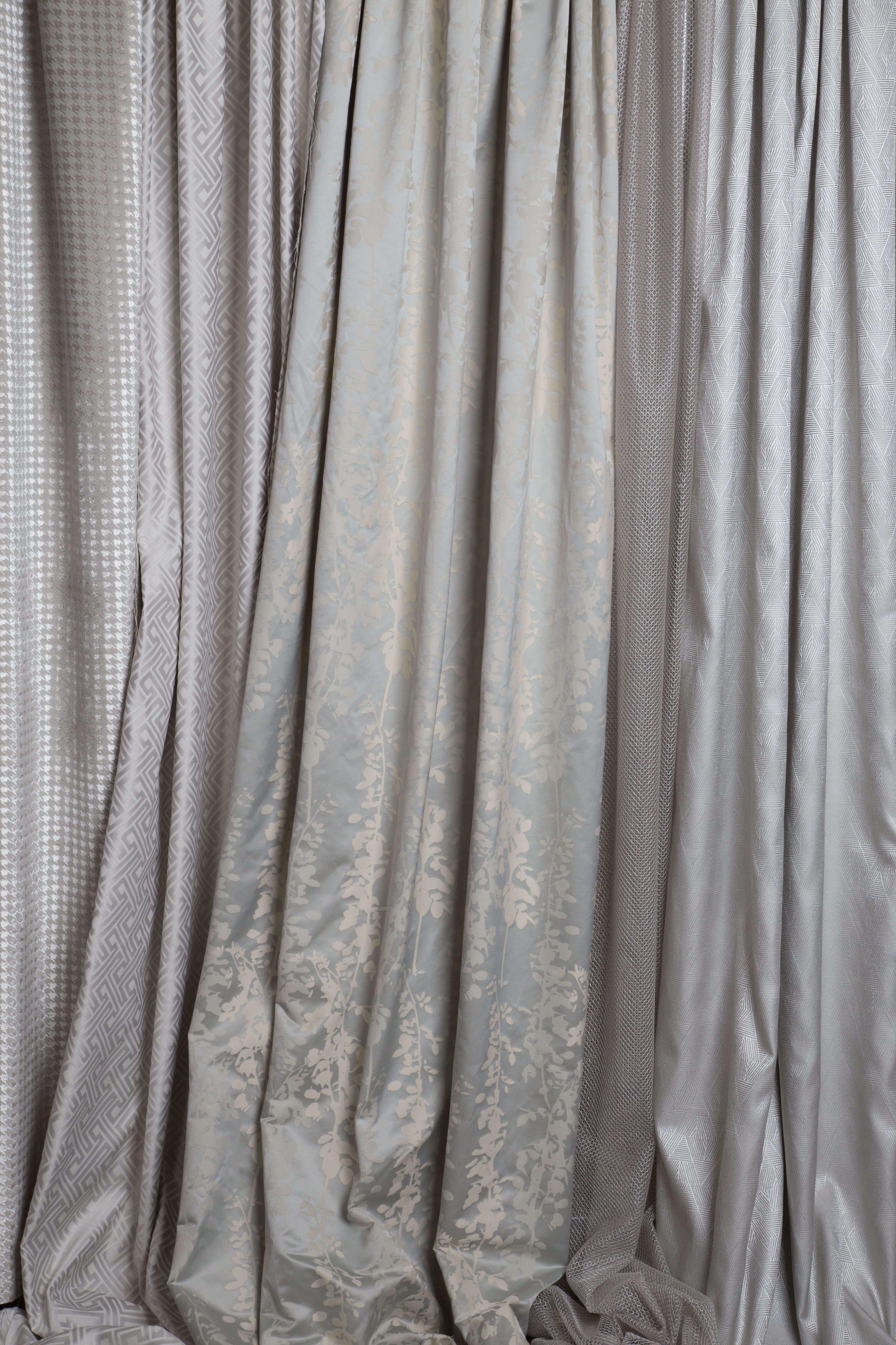 Новые коллекции натуральных тканей для штор