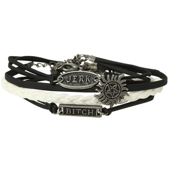 Supernatural Cord Bracelet 4 Pack | Hot Topic ❤ liked on Polyvore featuring jewelry, bracelets, accessories, cord bracelet, bracelet jewelry, bracelet bangle and rope bracelet