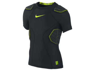 Nike Pro Hyperstrong Compression 4 Pad Boys Football Shirt