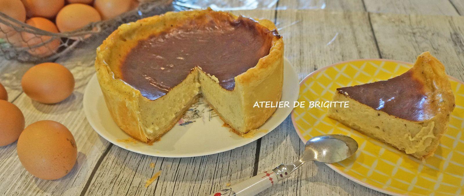 Flan Pâtissier : La Rolls des Flans Pâtissiers, recette Chef Cédric Grolet #flanpatissier