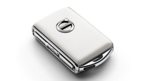 Remote Key Fob Shell White Leather Volvo Cars Car Brands Car Keys