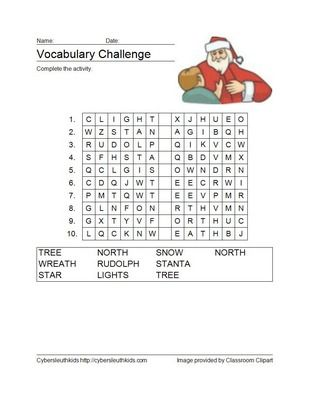 image regarding Free Printable Christmas Puzzles identify Pin upon Rosa Williams
