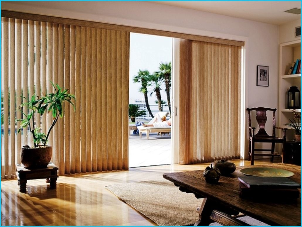 Vertical blinds for sliding door home depot Home decorators vertical blinds