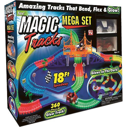 Magic Tracks Mega Set 360 Piece Toys R Us Glow In The Dark