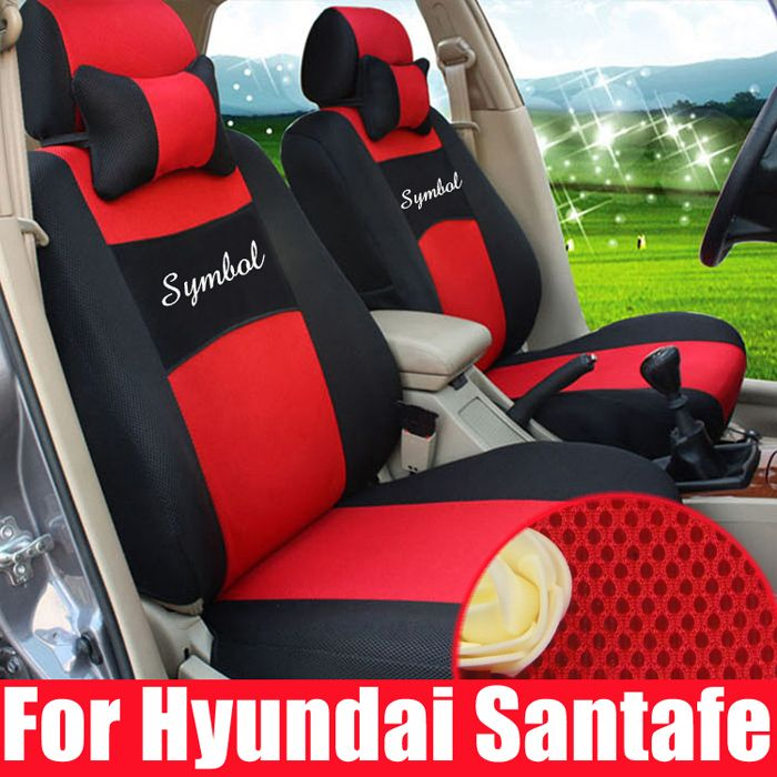 Customized Seat Cover For Hyundai Santafe Car Covers Auto Parts Sandwich Seats Protector Decorative