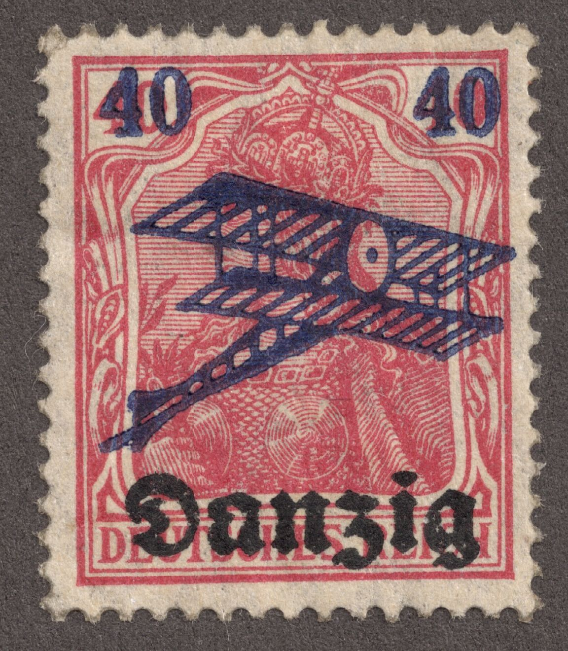 Danzig german stamp at World War II (I got 1 page of