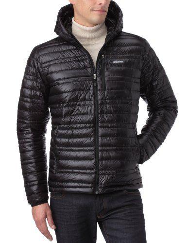 Patagonia ultralight down jacket black