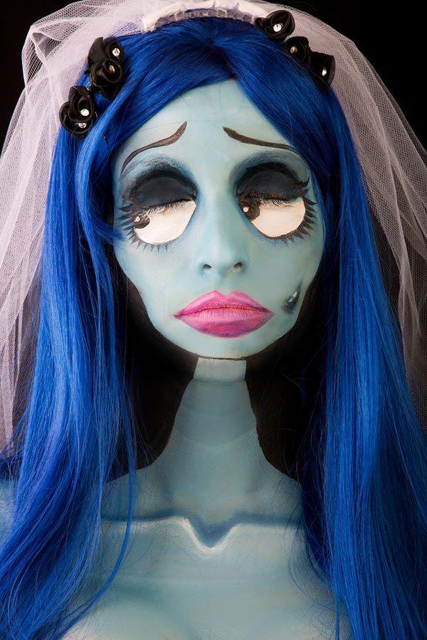 maquillaje novia cadaver