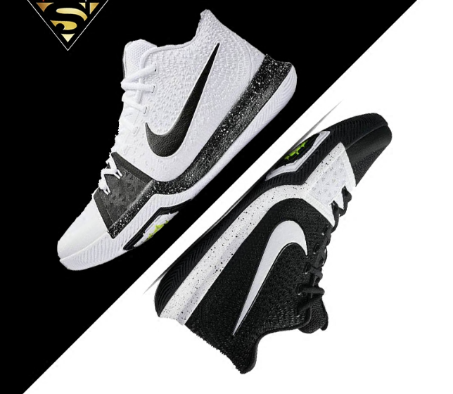 nike kyrie 3 tuxedo white black basketball shoes 917724 001 nike nikeoutfits nikekyrietuxedo