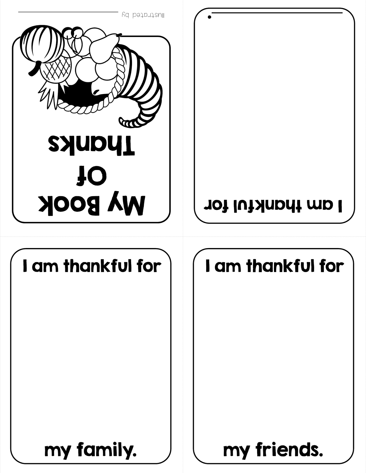 Thanksgiving Freebies My Book Of Thanks And Thanksgiving