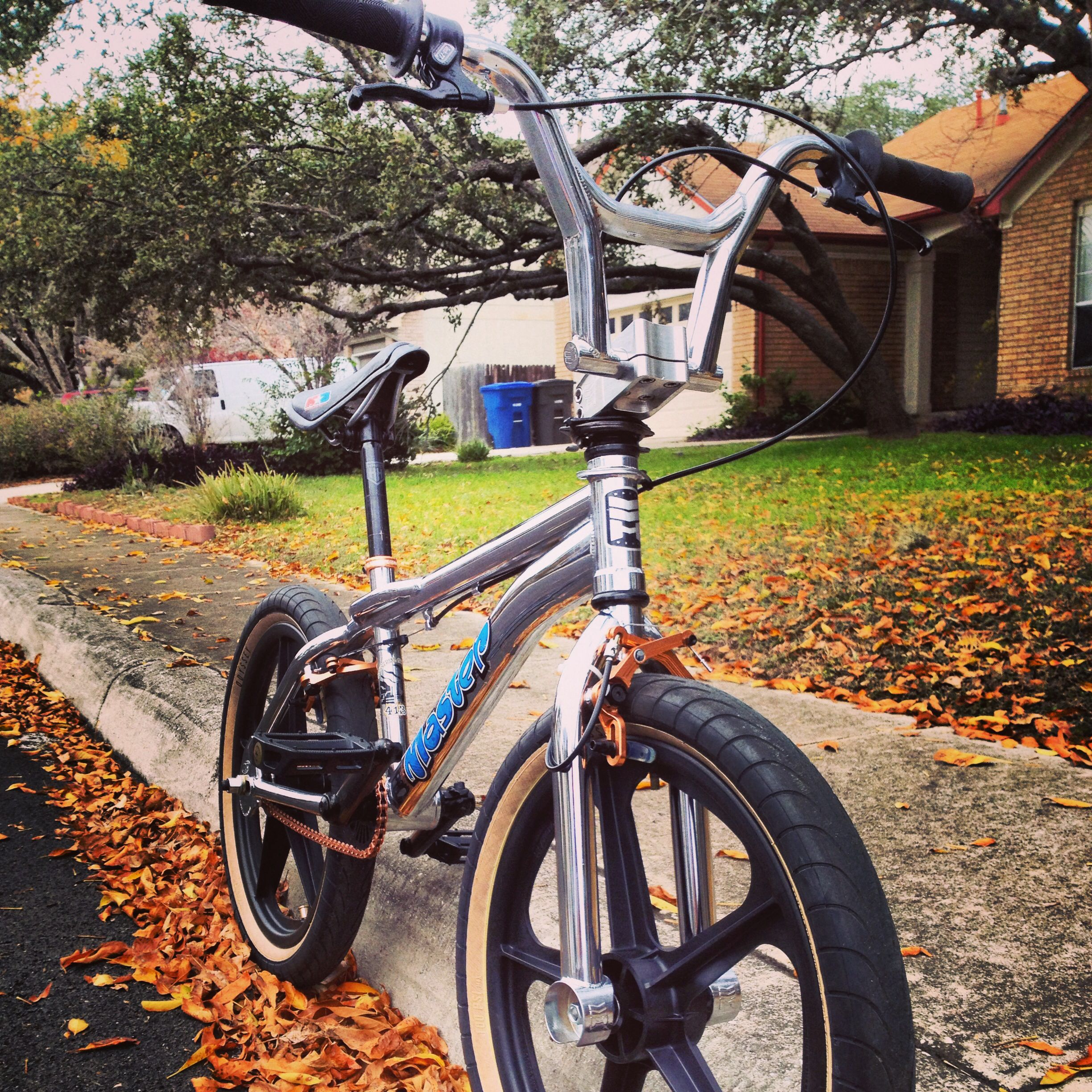 99 Haro Master Flatland BMX w/ copper Shadow Conspiracy components ...