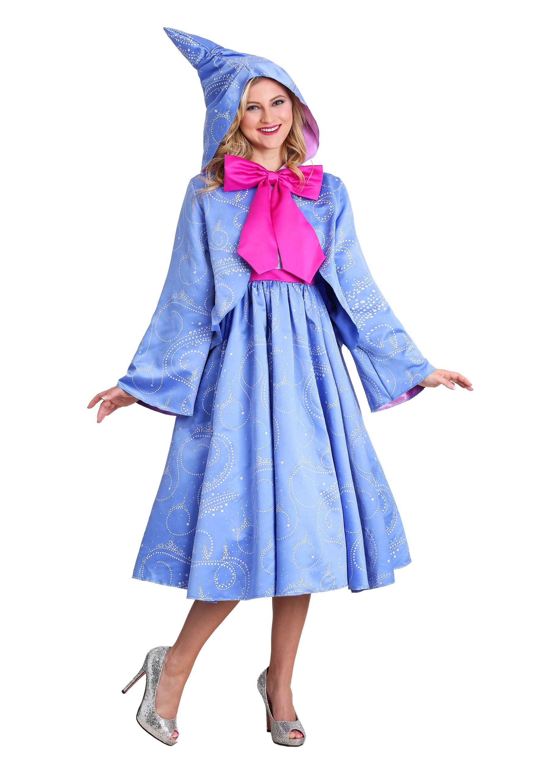 Details About Adult Plus Size Fairy Godmother Costume Fairy