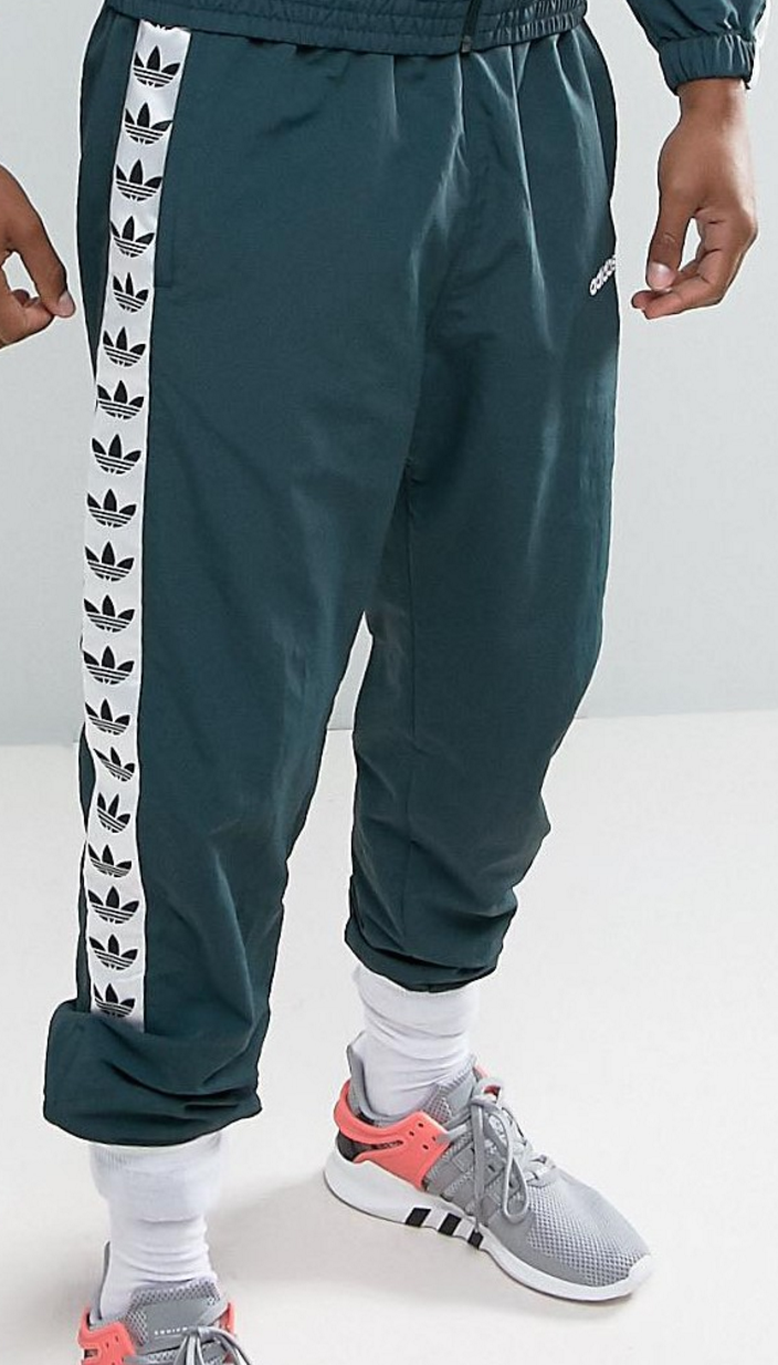 adidas Originals Adicolor TNT Tape Wind Track Joggers In