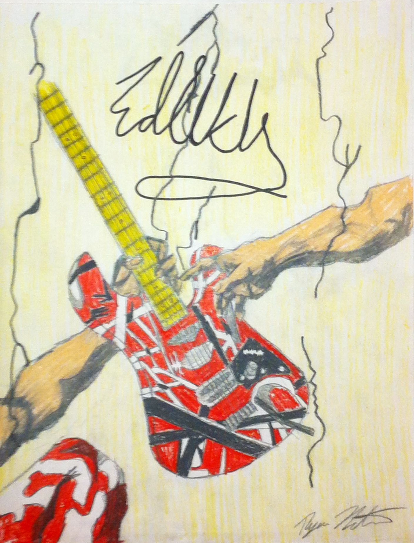 Eddie Van Halen and the Hand of God