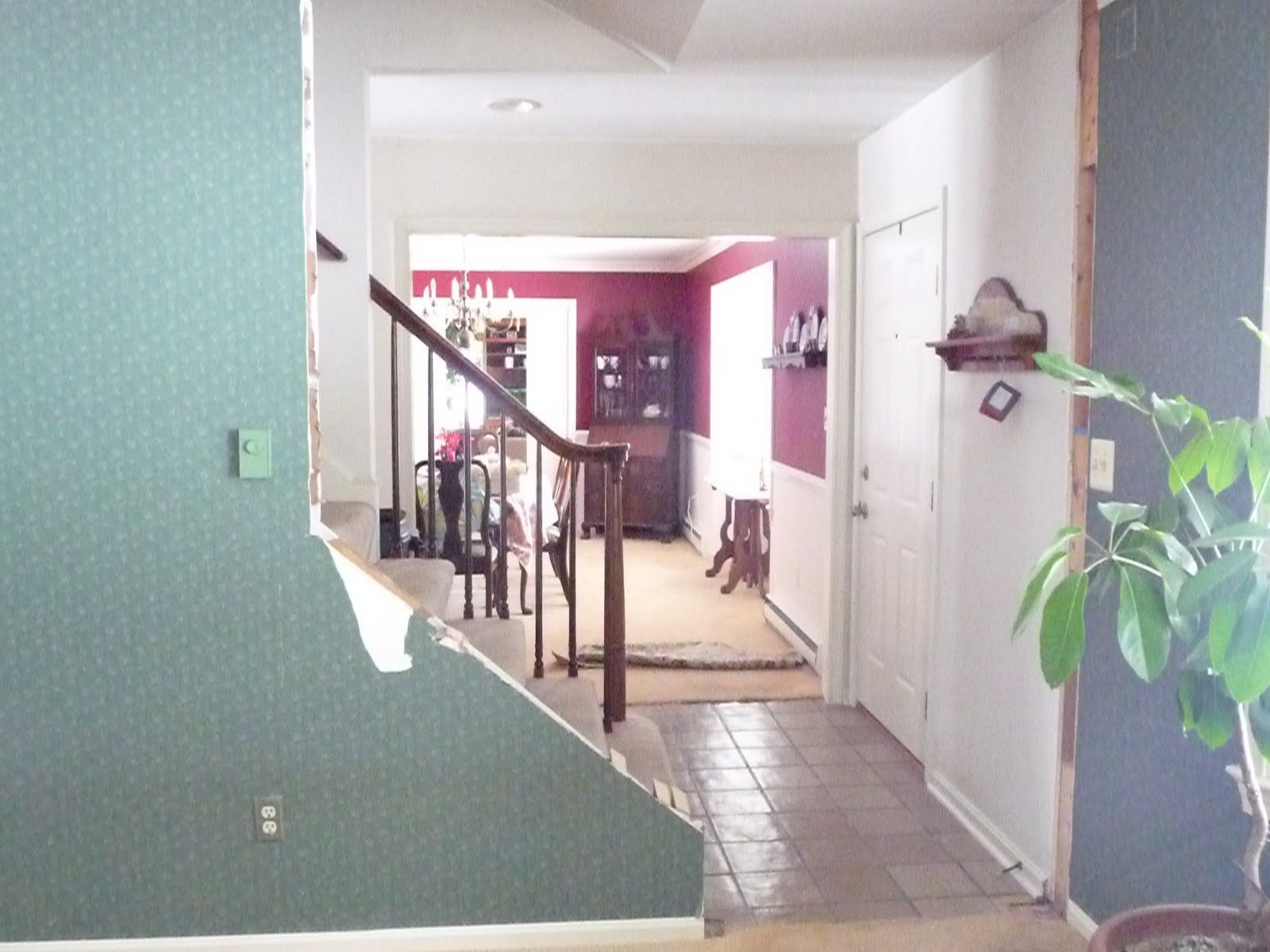 Remodelaholic Beautiful Open Staircase Reveal Open Staircase