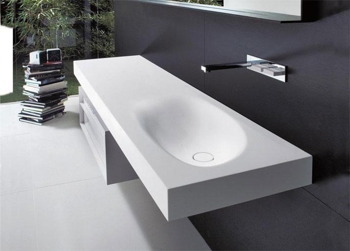 Lavabi in Cristalplant | Falper | Hospitality Design
