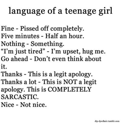 True girl teen stories