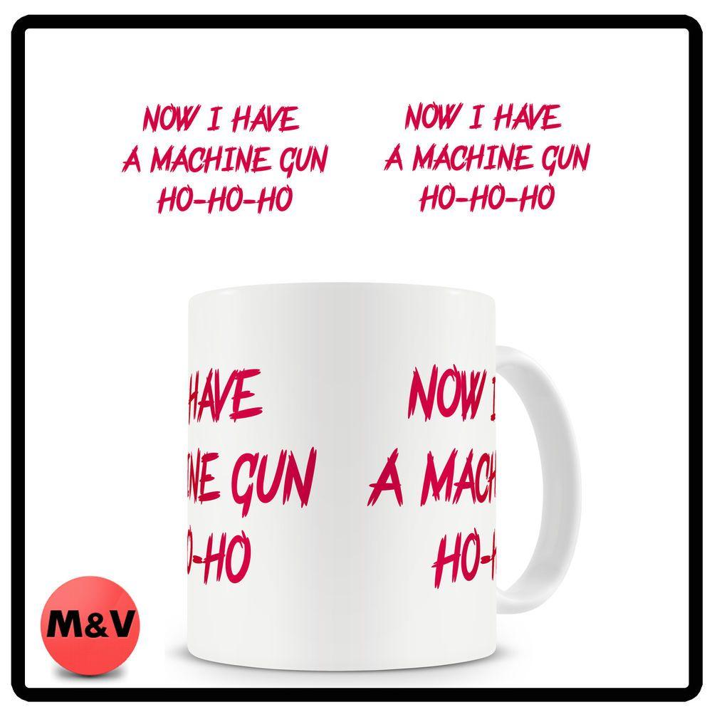 Die hard movie mug, bruce willis, christmas ho ho ho | Mugs ...