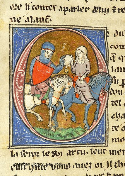 Lancelot du Lac, MS M.805 fol. 259v - Images from Medieval and Renaissance Manuscripts - The Morgan Library & Museum
