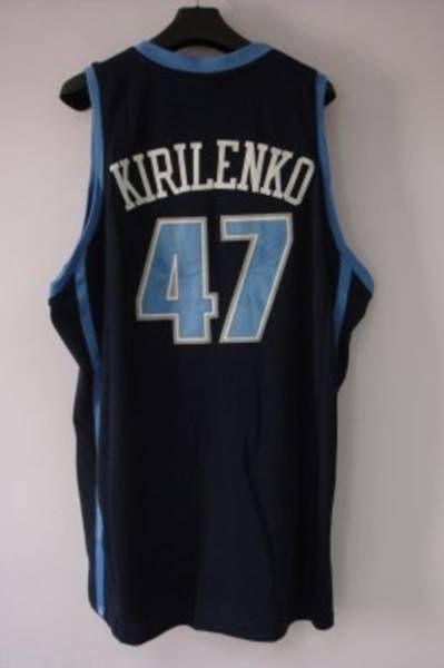 quality design f955b 86388 Jazz #47 Andrei Kirilenko Embroidered Blue NBA Jersey! Only ...