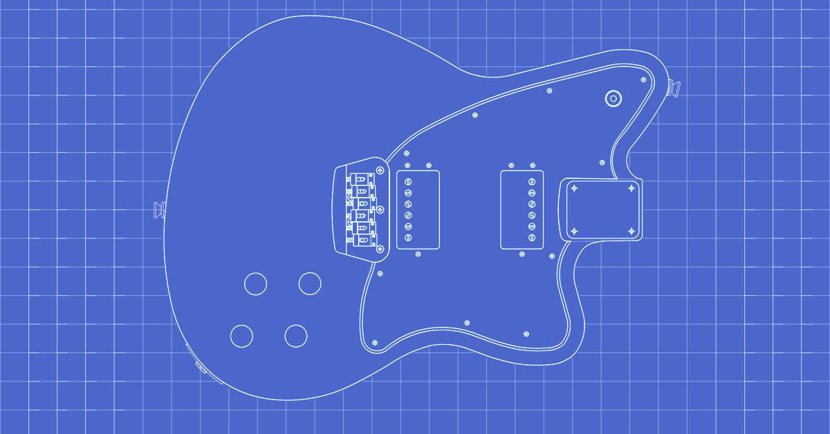interested in building a fender toronado use these body and neck rh pinterest com