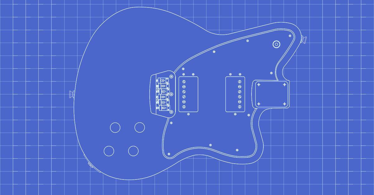 Pin On Guitar Templates