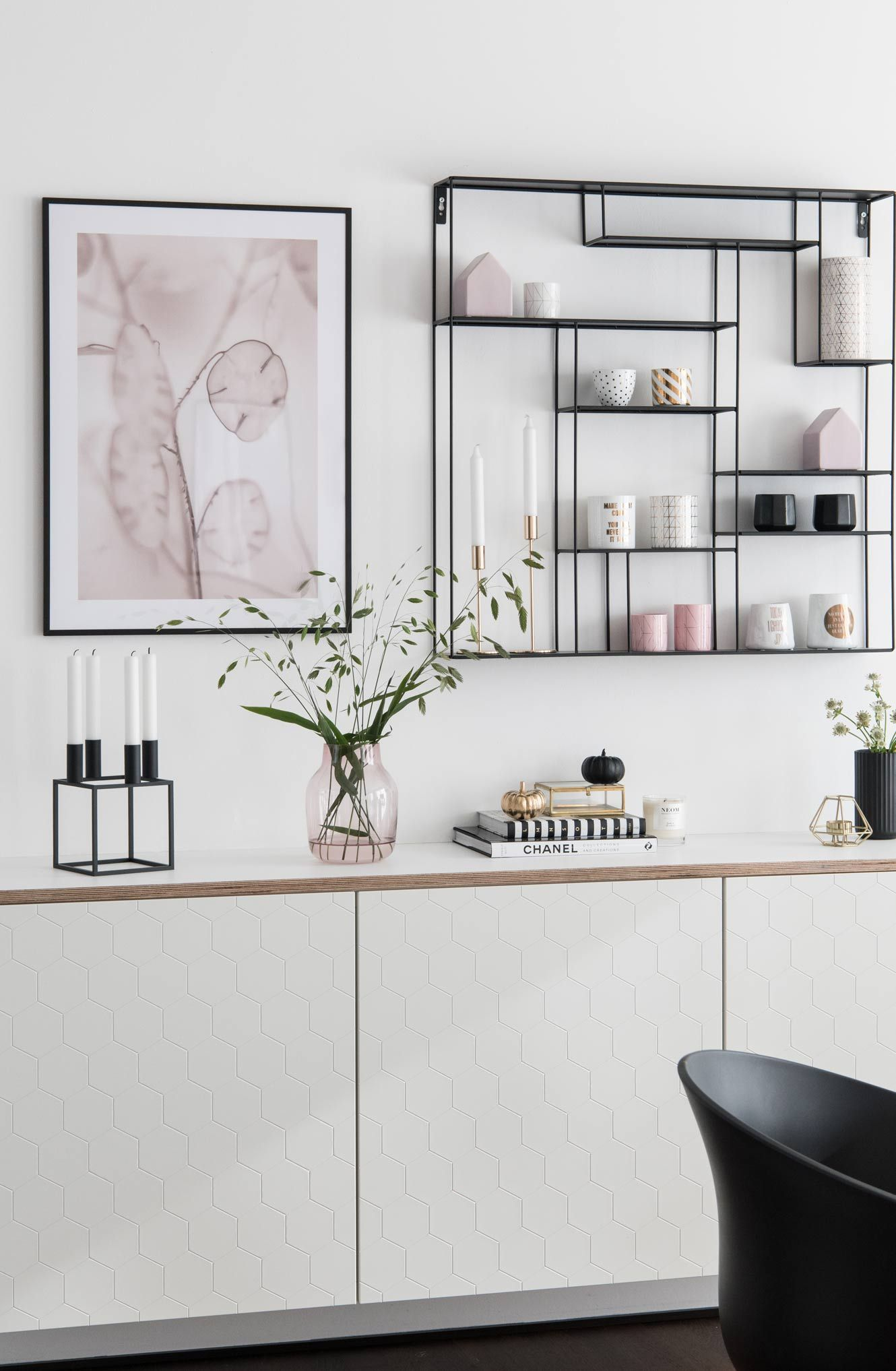 Diy Ikea Besta Mit Multiplex Platte Soul Follows Design Ikea Esszimmer Sideboard Flur Esszimmer Dekor Ideen