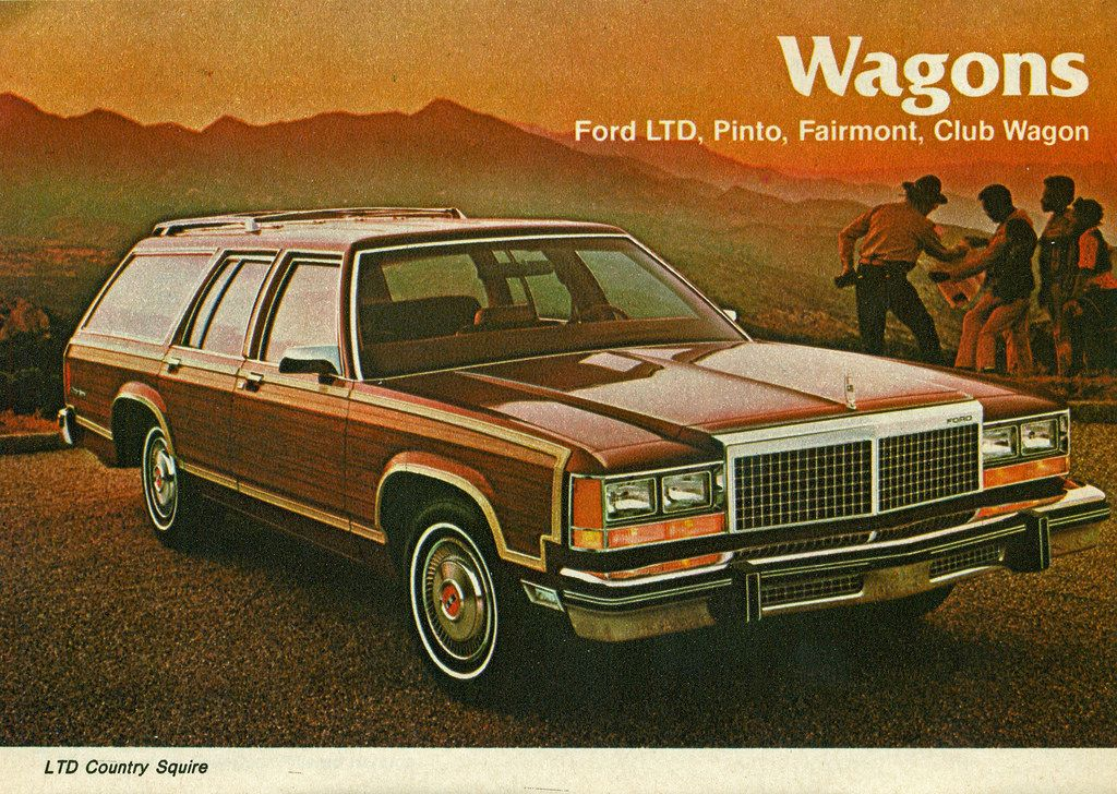 Automotive Manuals & Literature Country Squire Wagon 1979 Ford LTD 16-page Original Car Sales Brochure Catalog