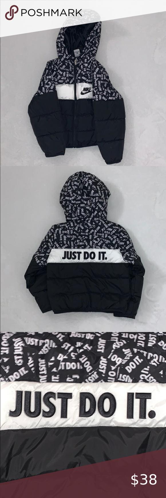 Nike Puffer Kids Jacket New Without Tag Nike Jackets Coats Puffers Nike Coat Kids Jacket Baby Girl Jackets [ 1740 x 580 Pixel ]