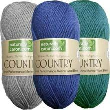 Naturally Country merino wool blend yarn. This yarn is wonderful to work with and a has nice price too!