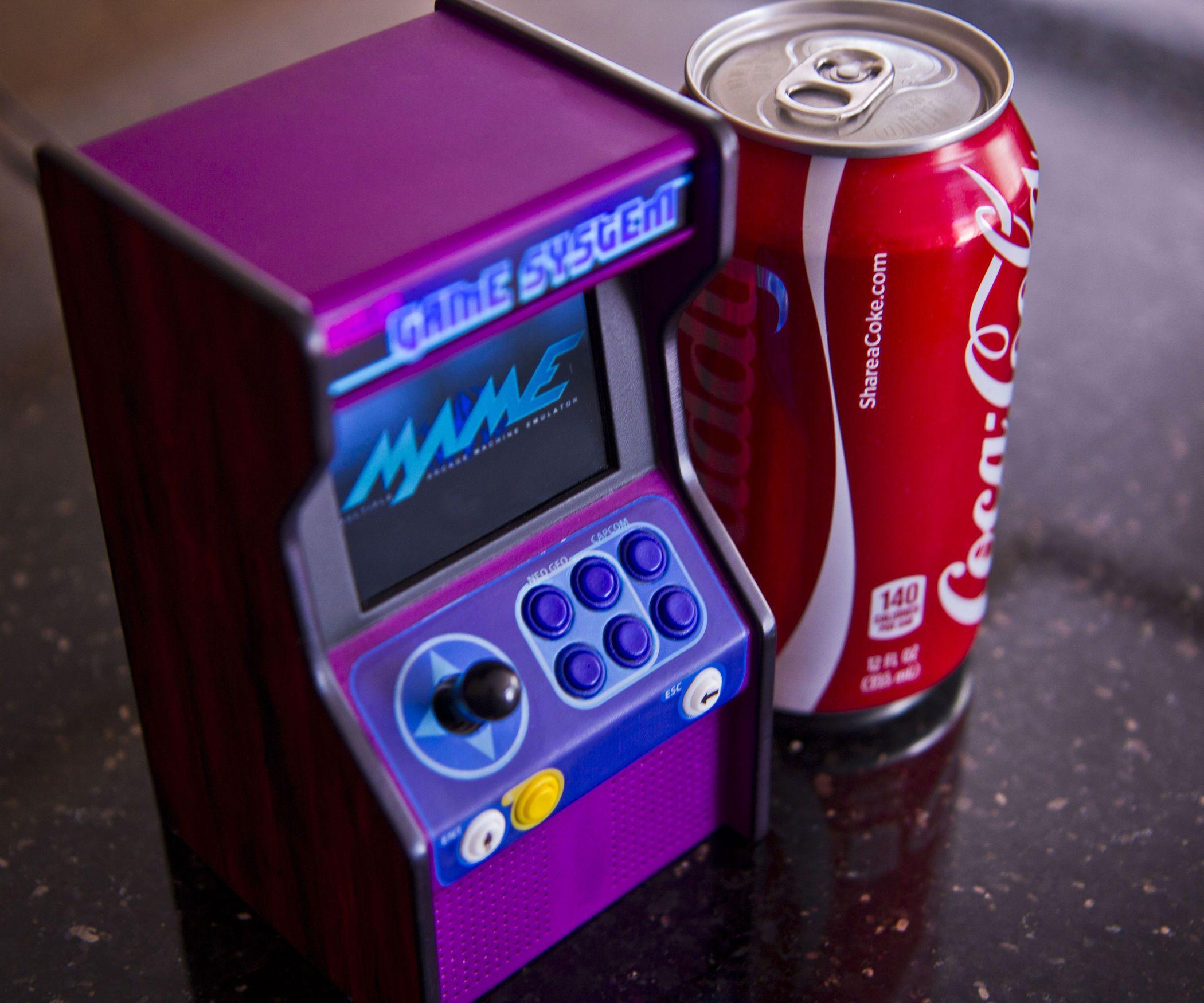 Micro Raspberry Pi Arcade Cabinet Raspberry Pi Pi