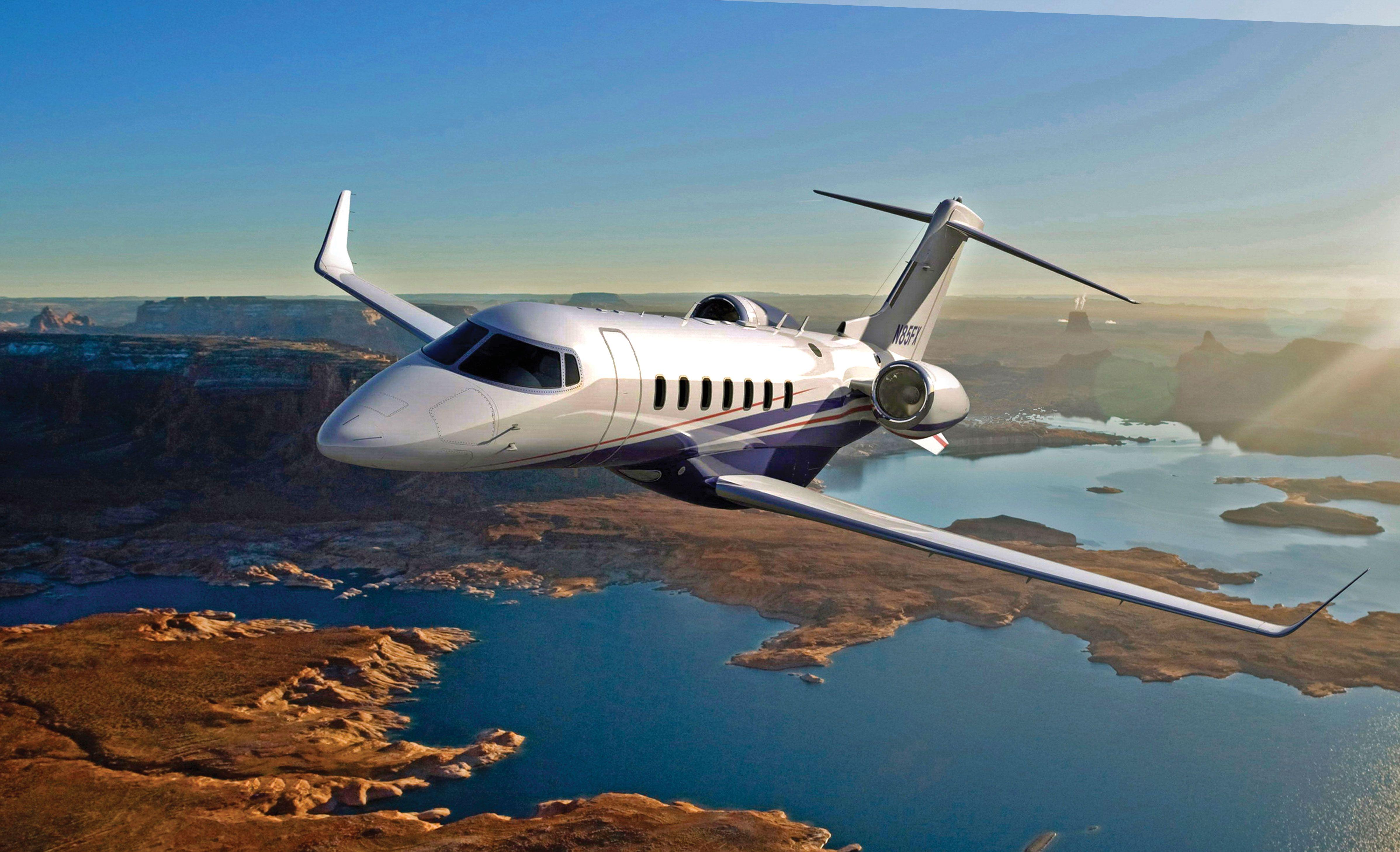 Sky High Luxury Private Jet Aircraft Jet