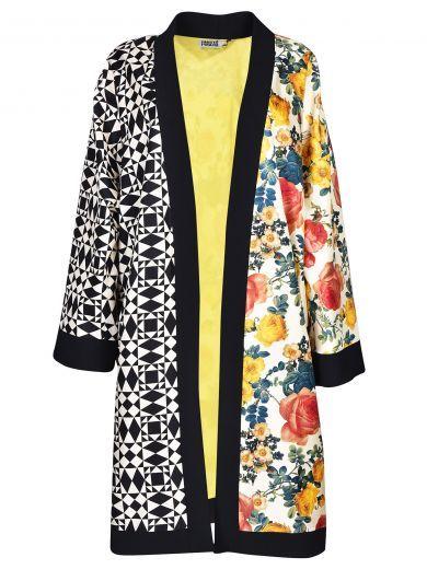 FAUSTO PUGLISI Fausto Puglisi Floral Print Cardi-coat. #faustopuglisi #cloth #https: