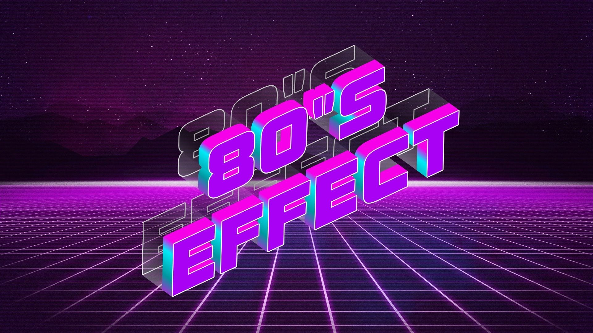 Cool logo effect generator design font