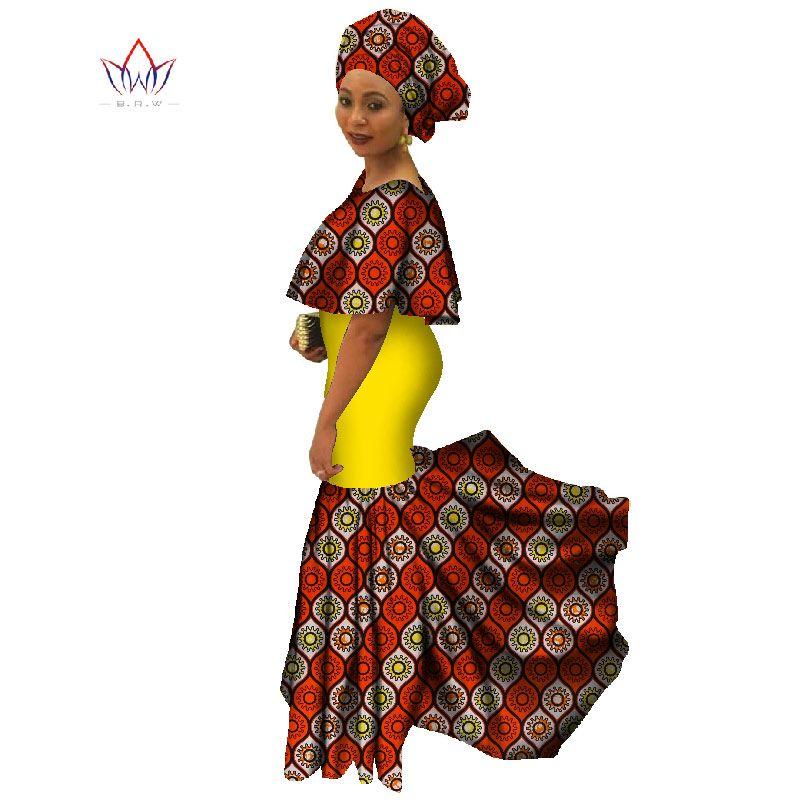 africa clothing elegant vestido women ruffleddress plus size 6xl