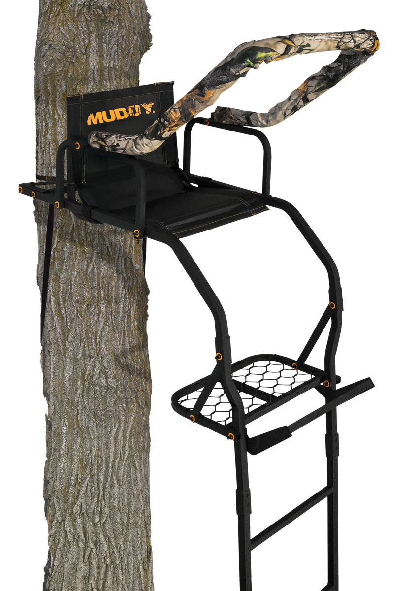 The Outlander Muddy Outdoors Treestand Deer Hunting Ladder Tree Stands