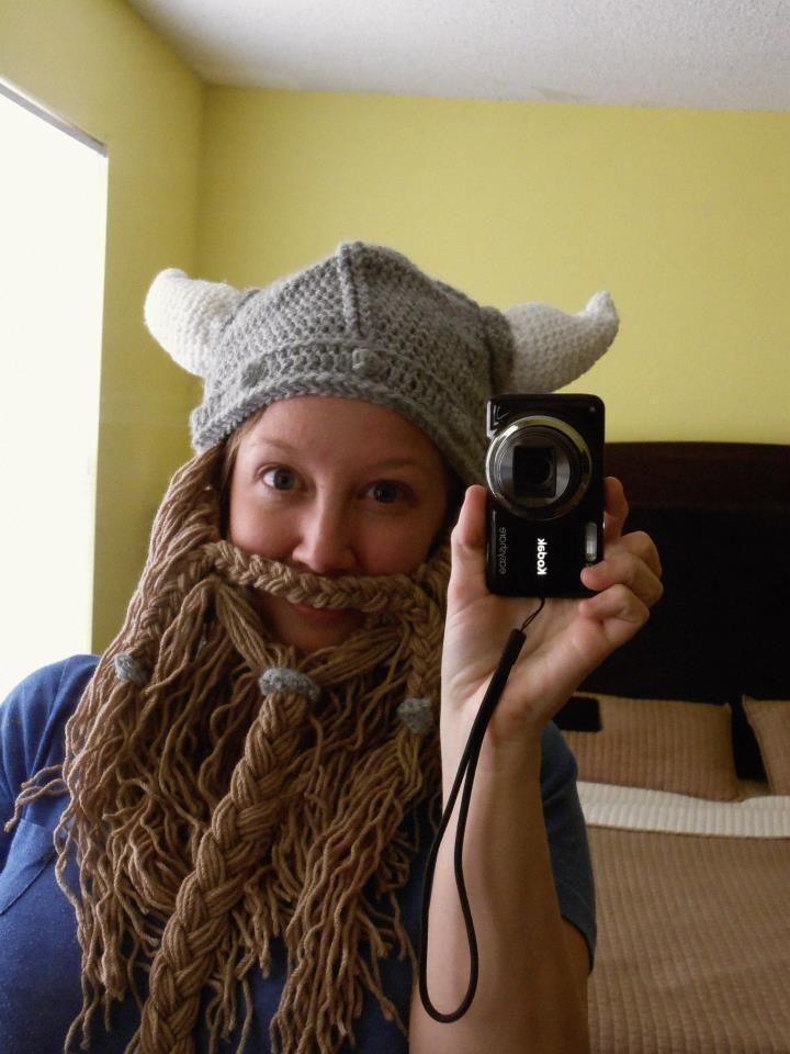 Viking beard - free pattern (With images) | Beautiful ...